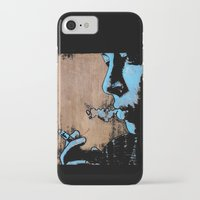 smoke iPhone & iPod Cases featuring SMOKE by ARTito
