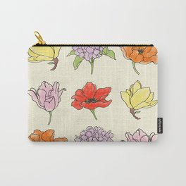 9 flowers Carry-All Pouch