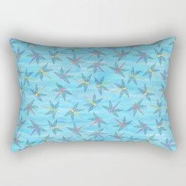 Sweet Dragonfly Skies Rectangular Pillow