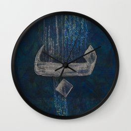 Baa Blu Wall Clock