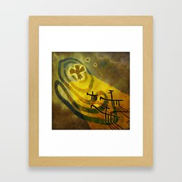 To the Star Framed Art Print