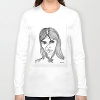 sassy Long Sleeve T-shirts featuring sassy  by starudijia