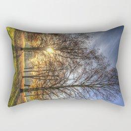 Autumn in Greenwich Park Rectangular Pillow