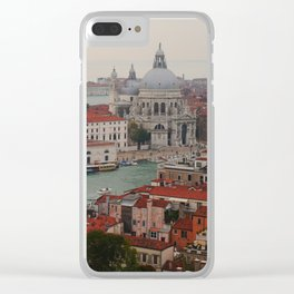 Venice view from the Campanile of San Marco Clear iPhone Case