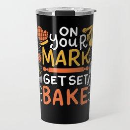 Get Set Bake - Gift Travel Mug