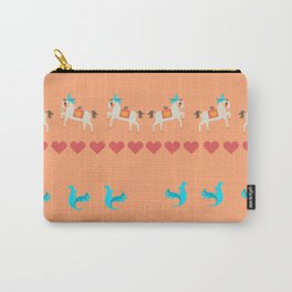 GENTLE  HORSE AND FELLOW BIRD Carry-All Pouch