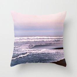 Northern beach Throw Pillow