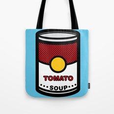 Warhol's Tomato Soup Tote Bag