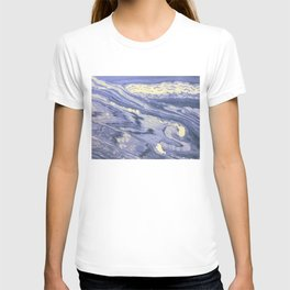 Lavender Marble With Cream Swirls T-shirt