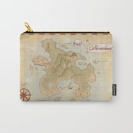 Map of Neverland Carry-All Pouch