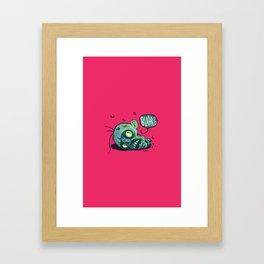 BLARG! Framed Art Print