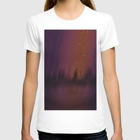 theater T-shirts featuring Purple Theater by Thedustyphoenix