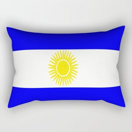 Flag of Argentina Rectangular Pillow