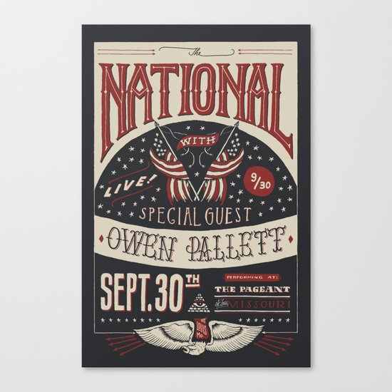 The National Canvas Print