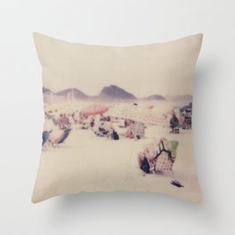 Copacabana Throw Pillow