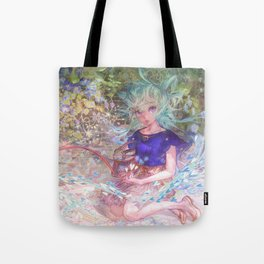 Heart Level Up: Color Your World Tote Bag