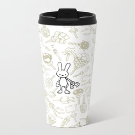 minima - beta bunny / gear Metal Travel Mug