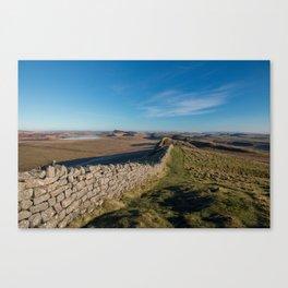 Hadrian's Wall Canvas Print
