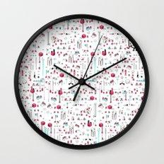8bit Love Wall Clock