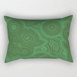Green Agate Rectangular Pillow