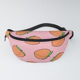 Peach Pattern Fanny Pack