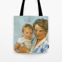 mother and child 2 Tote Bag