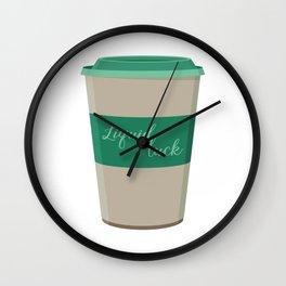 Liquid Luck Wall Clock