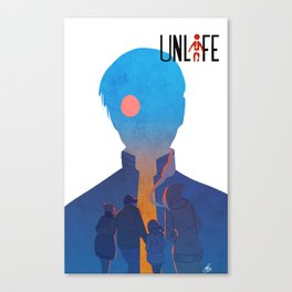 Unlife: Red Eye Canvas Print