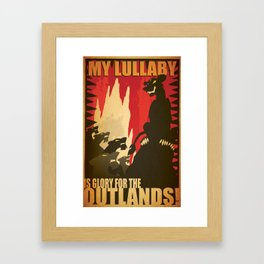 My Lullaby Zira Proganda  Framed Art Print