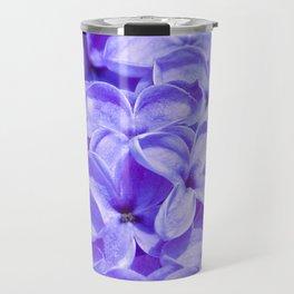 Blue Lilacs by Teresa Thompson Travel Mug