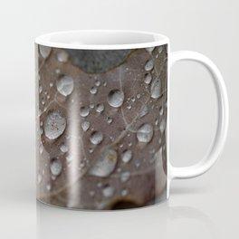 Water Droplet on Leaf Coffee Mug