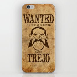 Wanted: Trejo iPhone Skin