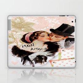 Vintage MON Amour Couple Laptop & iPad Skin