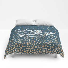 Stay Gold - Golden Drops Comforters
