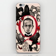 GOD SAVE ALEXANDER MCQUEEN iPhone & iPod Skin
