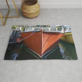 Red Lobstering boat Rug