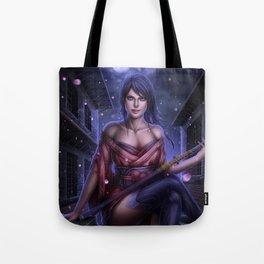 Swordswoman Tote Bag