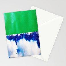 SKY/GRN Stationery Cards