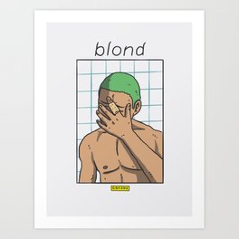"""Blond"" artwork Art Print"