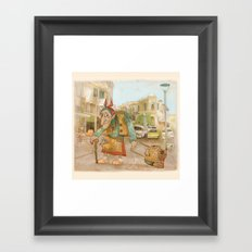 The Witch Framed Art Print