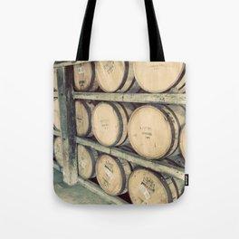 Kentucky Bourbon Barrels Color Photo Tote Bag