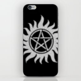 Carry On Supernatural Pentacle iPhone Skin