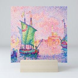 Paul Signac Twilight in Venice Mini Art Print