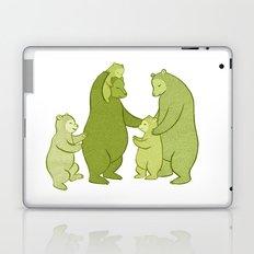 Bear family of Five Laptop & iPad Skin