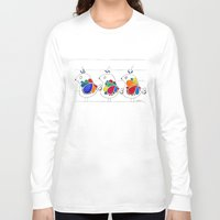 folk Long Sleeve T-shirts featuring folk by Gosia&Helena