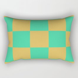 retro chess pattern Madremonte Rectangular Pillow