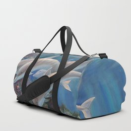 Happy Family - Dolphins Are Awesome Duffle Bag