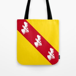 flag of lorraine Tote Bag