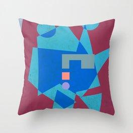 Battlestar Throw Pillow