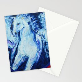 My Dream: Three Horses from the Stars Stationery Cards